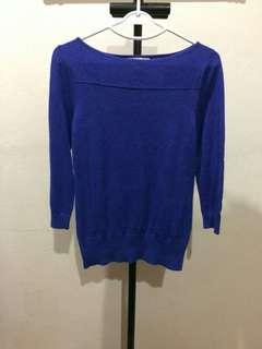 Banana Republic Elegant Blue Top