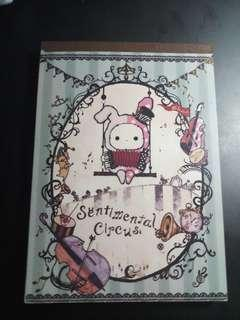 Sentimental Circus Note Pad (15cm by 11cm) A6