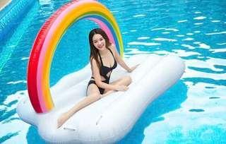 新款 彩虹雲浮床 影相一流 有意pm