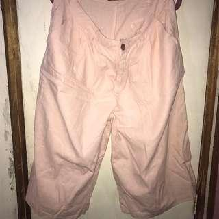 Baby pink culottes