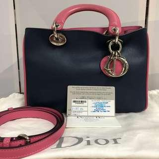 100% Authentic Diorissimo Mini 3 Tone Dior Bag