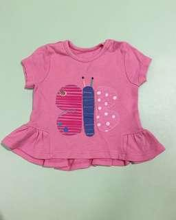 Preloved mothercare atasan butterfly sz up to 3m