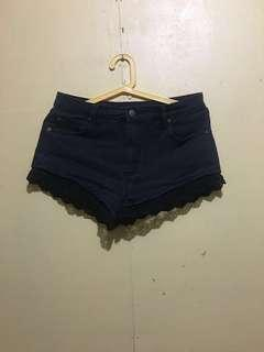 FOREVER Highwaist 21 Lacey Shorts(Fixed Price)