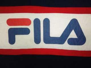 Fila big logo speel out kain sambung vintage desgn