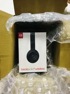 Brand New Beats Solo3 Wireless On-Ear Headphones - Matt Black Beats Solo 3 Wireless