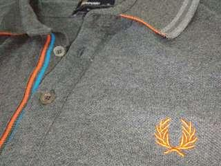 Fred Perry Polo Tee double ringer authentic like new