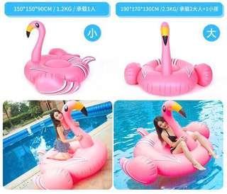 粉紅火烈鳥 浮床 水泡 有意pm
