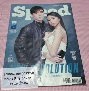 SPEED MAGAZINE NOV 2018 EDITION COVER..