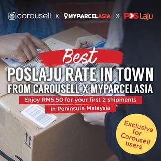 MyParcelAsia: Enjoy RM5.50 for your first 2 shipments in Peninsula Malaysia