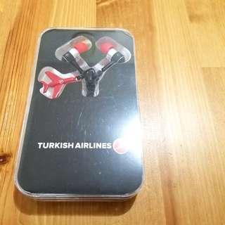 Turkish Airlines earphone 耳筒