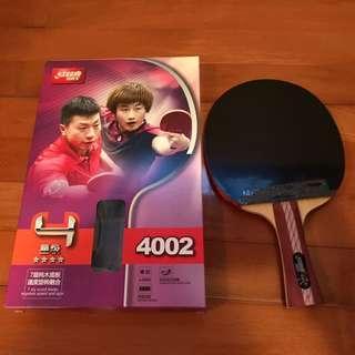 紅雙喜乒乓球拍4002-全新