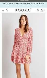 Kookai Wilshire mini dress size 36