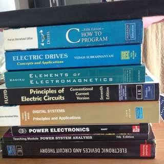 Engineering electrical power electronics text books