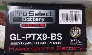 日本膠體電池 Pro select battery GL-PTX9 BS(對應YTX9-BS)