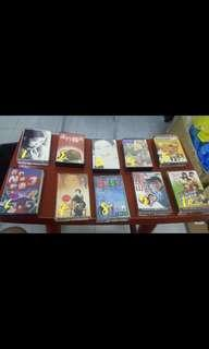 Assorted Chinese cassettes tapes rm 5 each