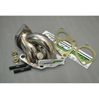 TD05 Turbo Down Pipe Full stainless steel 4G93 GSR EVO 1 2 3