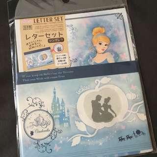 Cinderella 灰姑娘迪士尼公主信封信紙 envelop letter mail
