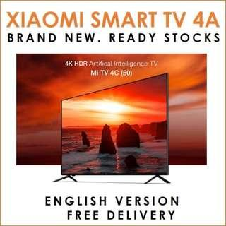 "✔FREE DELIVERY: XIAMI SMART TV 32"" & 43 "" available. MODEL: 4A READY STOCKS."