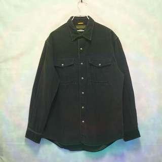 三件7折🎊 Timberland 燈心絨襯衫 長袖襯衫 襯衫 咖啡刷色 重磅 電繡logo 極稀有 老品 復古 古著 Vintage
