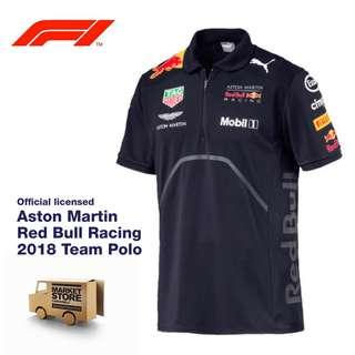 Brand new Aston Martin Red Bull Racing 2018 Team Polo