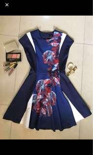 REPRICED!! Plains and Prints Dress