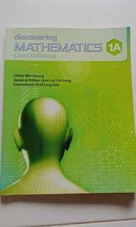 Discovering Mathematics Secondary 1 (2nd Edition) 1A, 1B