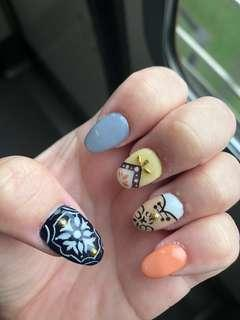 Manicure and pedicure package selling cheap