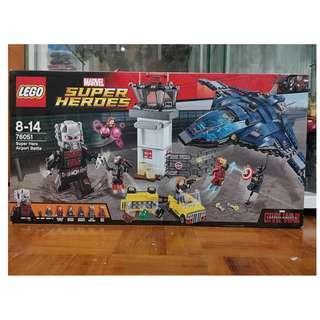 Lego 76051 Super Hero Airport Battle (Civil War)