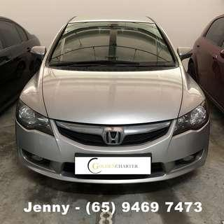 Honda Civic RENT PROMOTION CHEAPEST RENTING OUT FOR Grab/Ryde/Personal