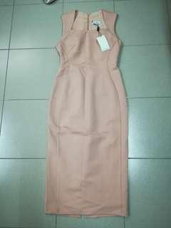 BNWT Love Bonito Bodycon Midi Dress