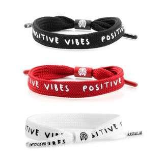 Rastaclat Positive Vibes Shoelace Bracelet