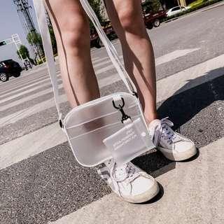 🚚 #814 Minimalistic Transparent Sling Bag