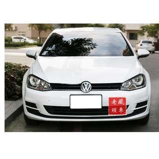 【老頭藏車 】2015 Volkswagen Golf『0元就把車貸回家 』『全貸,超貸,免保人』中古 二手 汽車