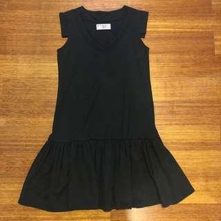 (X)S.M.L black dress