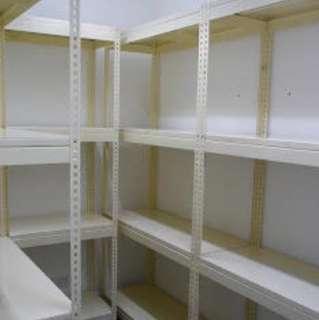Household Boltless Rack w/ Metal Shelves