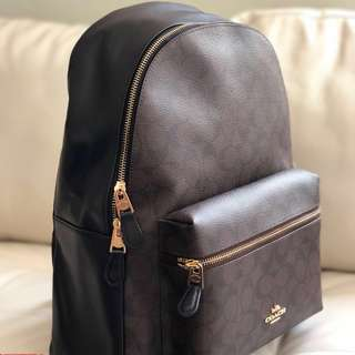 0a4b0fd603 RESTOCKED Coach Charlie Large Backpack