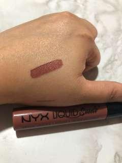 Nyx liquid suede in soft spoken