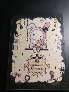 Sentimental Circus note pad (15cm by 11cm, A6)