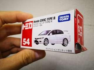 Tomy Tomica 54 Honda Civic Type R