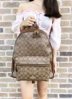 RESTOCKED COACH LARGE BACKPACK