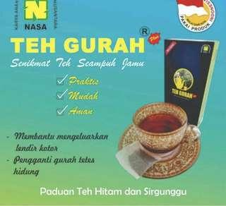 Black tea gurah nasa