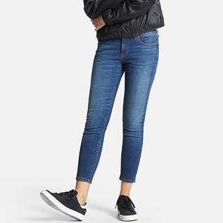 BNWT Uniqlo Ultra Stretch Mid wash jeans