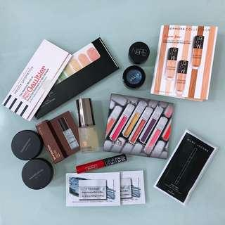 Deluxe makeup samples pack