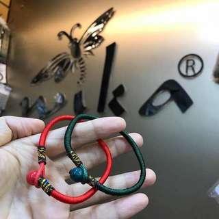 Lucky Red String bracelet