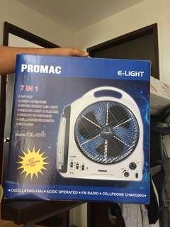Electric Fan + Light