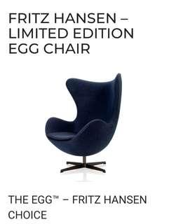 THE EGG™ – FRITZ HANSEN 60th anniversary limited edition