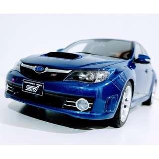 1/18 Subaru WRX Hatchback by Otto Ottomobile