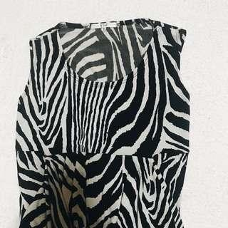 IT GIRL Animal Print Formal Dress