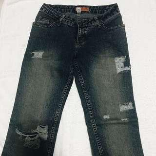 Freego Tattered Jeans