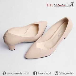 The sandals shoes